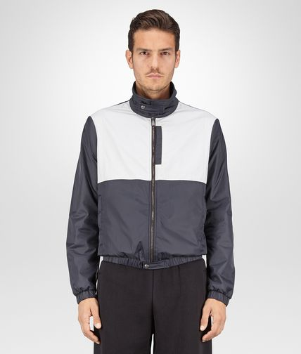 BLOUSON IN NYLON NERO MIST