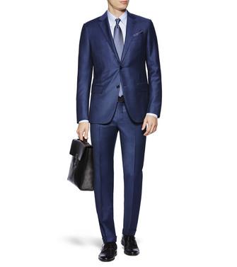 ERMENEGILDO ZEGNA: Suit Blue - 49175611JT