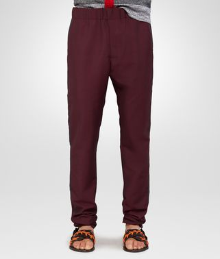 PANTS IN DARK VESUVIO MOHAIR WOOL