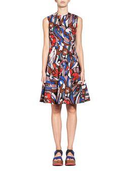 Marni Sleeveless dress in poplin  Woman