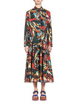 Marni Shirt-dress in cotton poplin  Woman