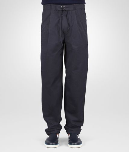 PANTALON EN COTON DARK NAVY