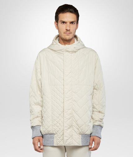 PARKA IN BIRCH POLYESTER