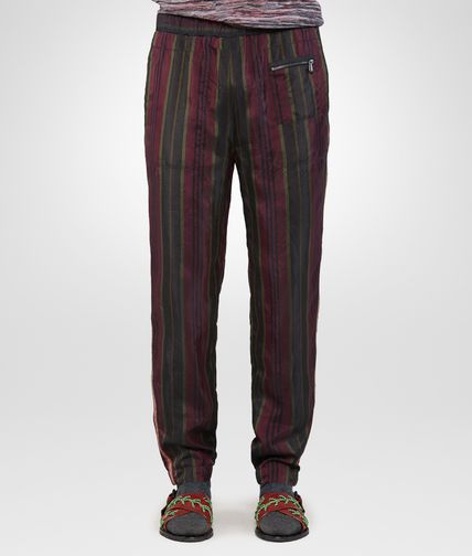 TROUSERS IN DARK SERGEANT NERO RUSSET CUPRO
