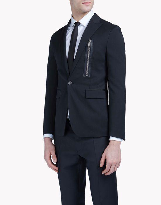 zip jacket coats & jackets Man Dsquared2