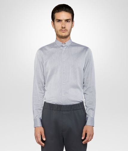 SHIRT IN MIST HAZE COTTON