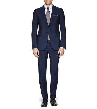 ERMENEGILDO ZEGNA: Suit Blue - 49187398TK