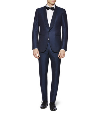 ERMENEGILDO ZEGNA: Suit Blue - 49187843KN