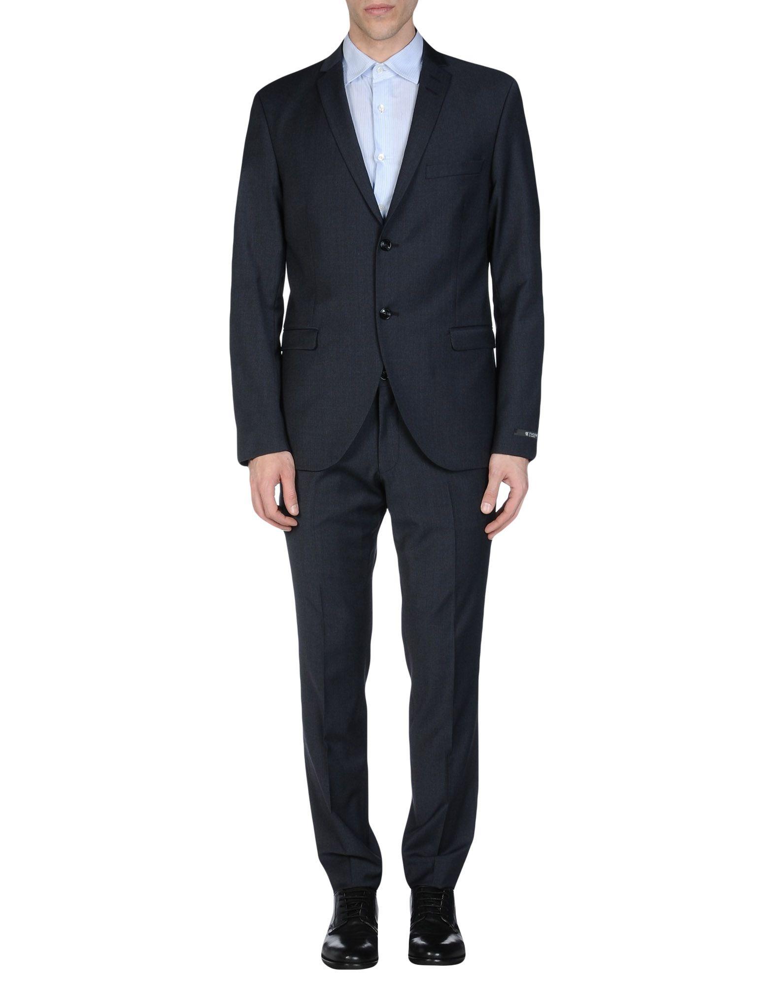 TIGER OF SWEDEN Herren Anzug Farbe Dunkelblau Größe 6