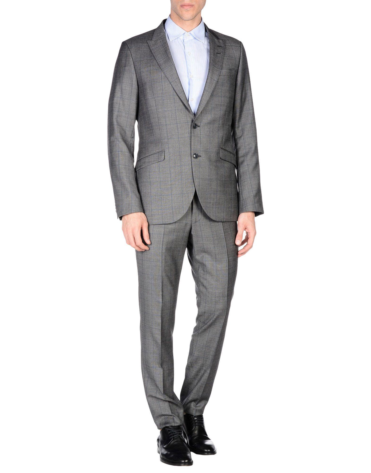 TIGER OF SWEDEN Herren Anzug Farbe Grau Größe 5