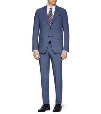 ERMENEGILDO ZEGNA: Suit Slate blue - 49196445PE