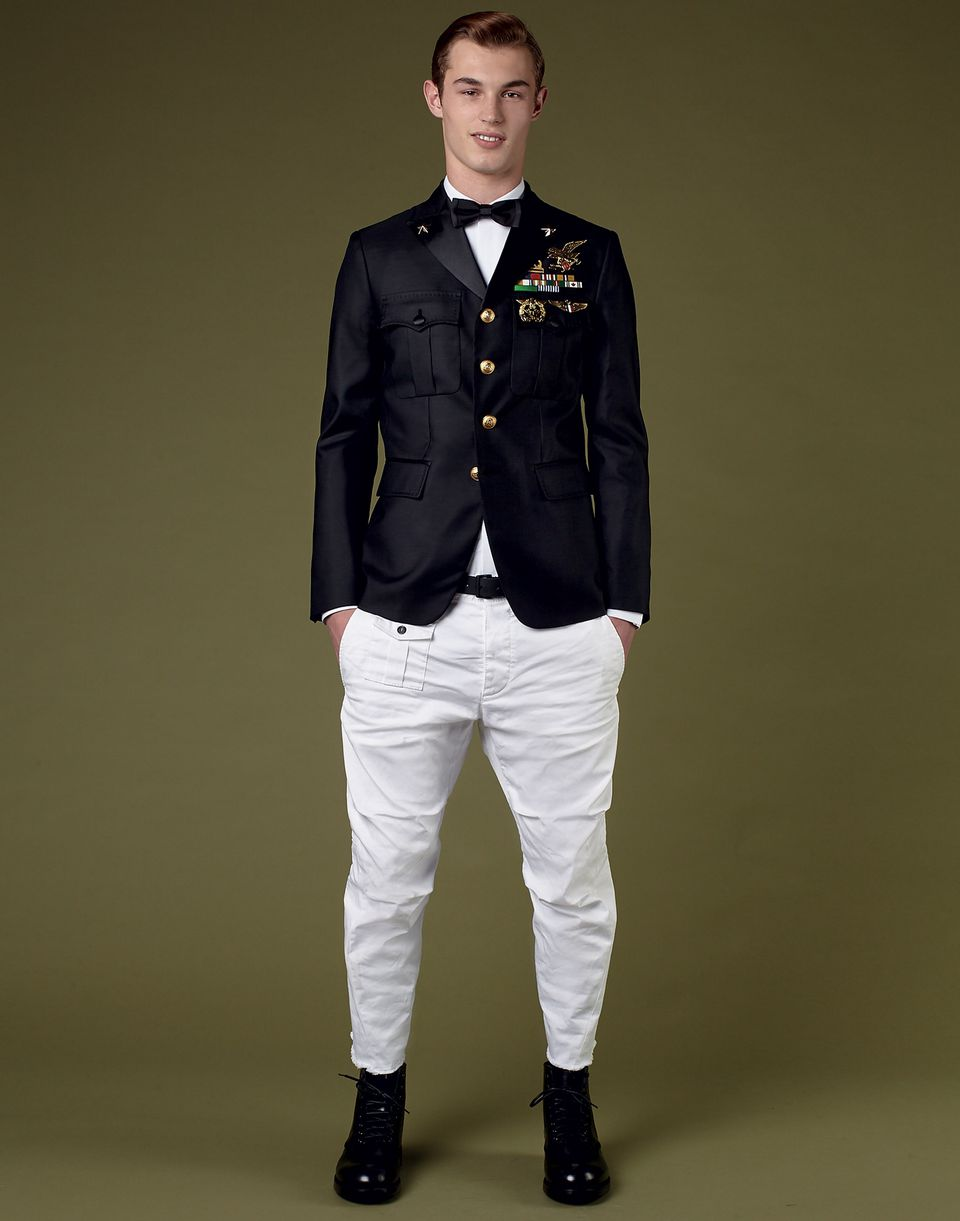 admiral evening jacket coats & jackets Man Dsquared2