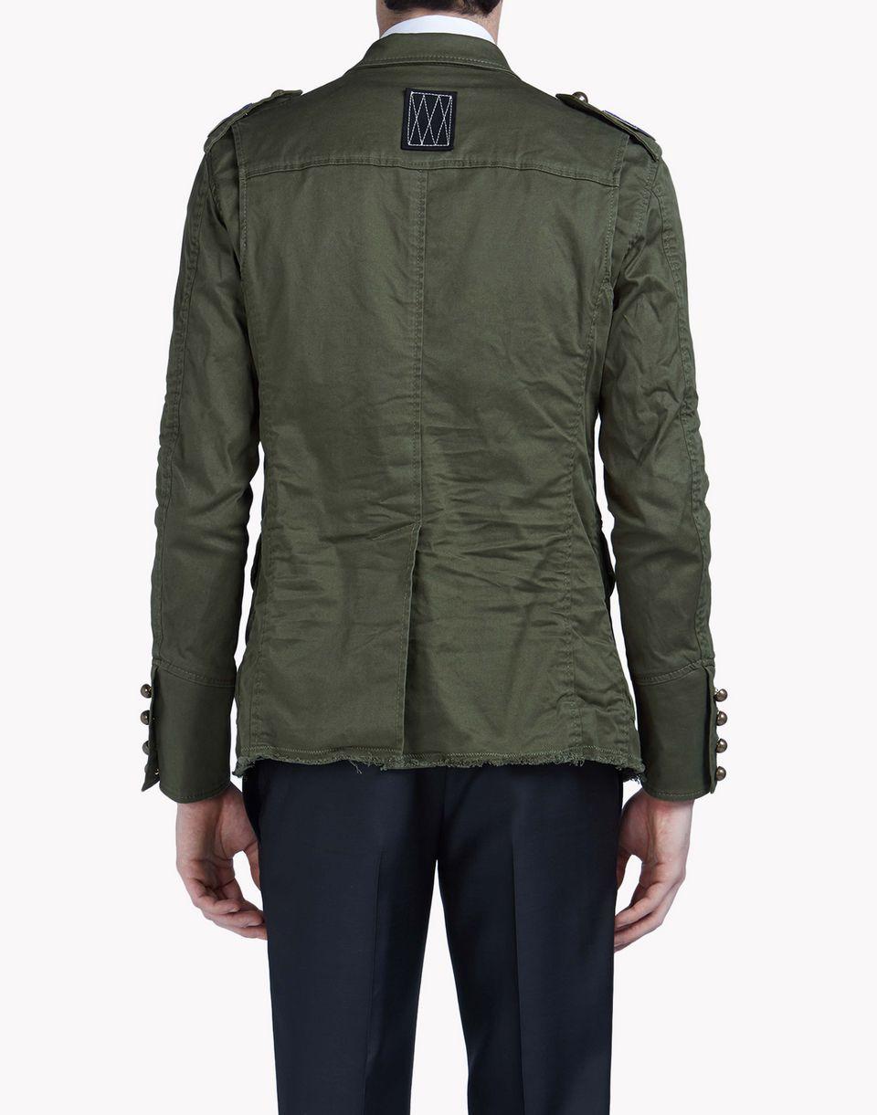 golden arrow jacket coats & jackets Man Dsquared2