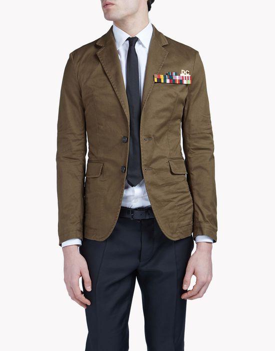 field marshall blazer coats & jackets Man Dsquared2