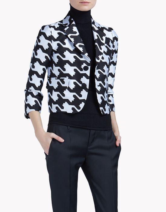 babewire jacquard jacket coats & jackets Woman Dsquared2