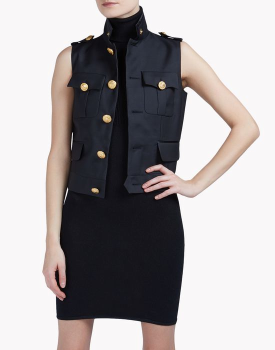 army vest coats & jackets Woman Dsquared2