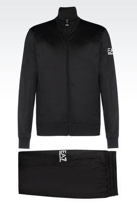 Armani Sweatsuits Men tracksuit in technical fabric