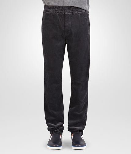 PANTALON EN VELOURS DE COTON DARK NAVY