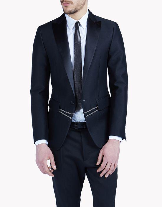 zipped london tux jacket coats & jackets Man Dsquared2