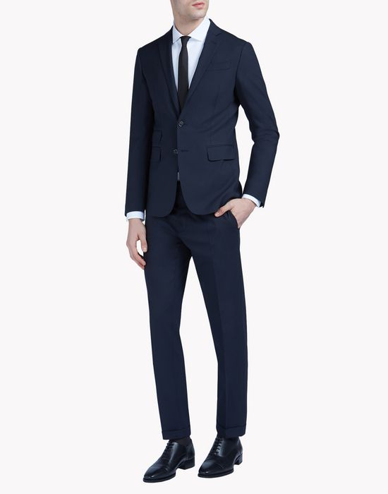 milano suit combined looks Man Dsquared2