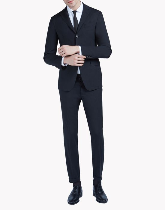 capri suit combined look Man Dsquared2