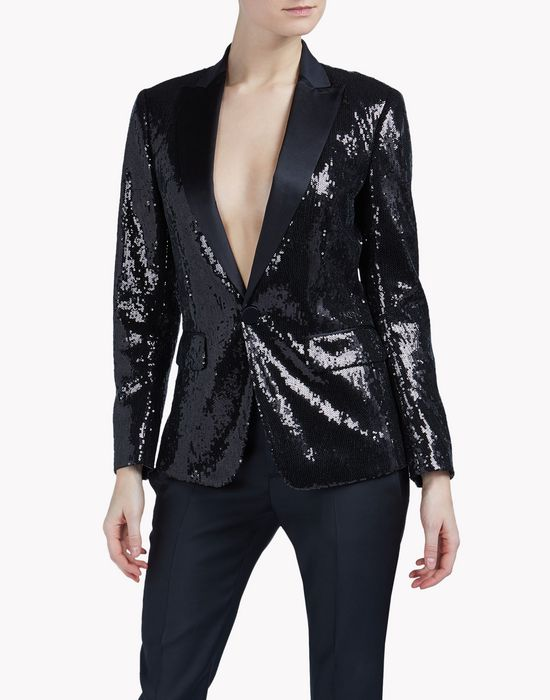 london peak jacket coats & jackets Woman Dsquared2