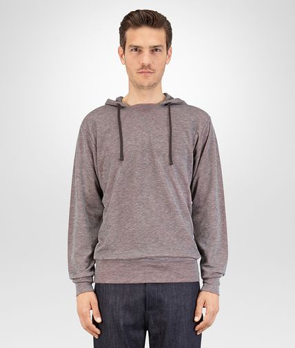 T-SHIRT IN GREY VESUVIO COTTON JERSEY