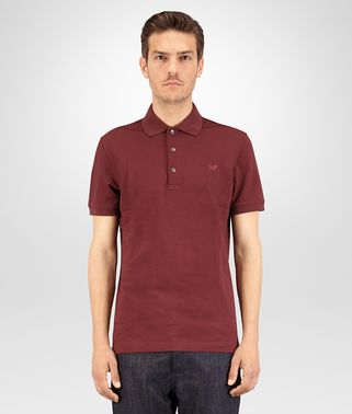 POLO IN BAROLO COTTON PIQUET