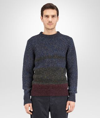 SWEATER IN MULTICOLOR MERINOS WOOL