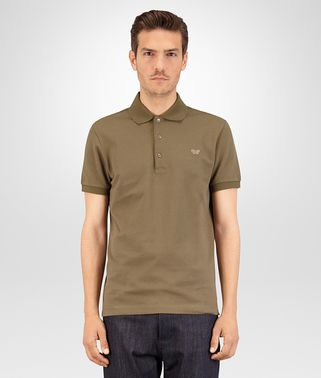 POLO IN DARK SERGEANT COTTON PIQUET