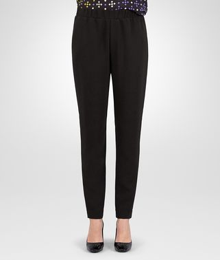 PANTS IN NERO TECHNICAL CREPE