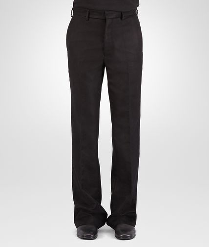 PANTS IN NERO MOLESKIN