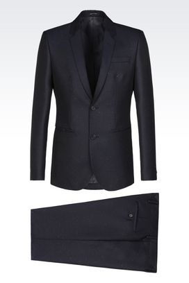 Armani Two buttons suits Men suit in wool blend