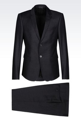 Armani Two buttons suits Men suit in worsted wool