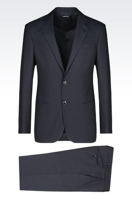 Armani Suits Men soho line suit in twill