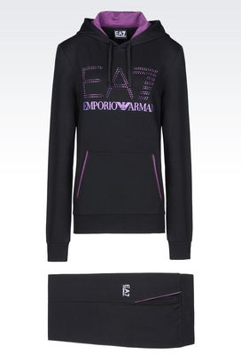Armani Sweatsuits Women fleece tracksuit