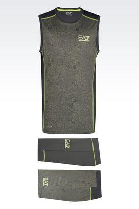 Armani Sweatsuits Men ventus7 line technical fabric training kit