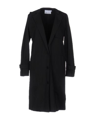 Легкое пальто T BY ALEXANDER WANG 49230070ME