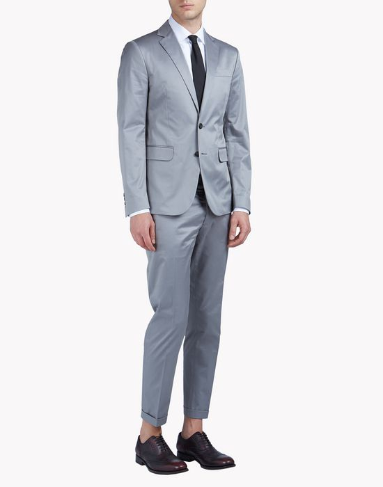 relaxed-fit cotton paris suit suits Man Dsquared2
