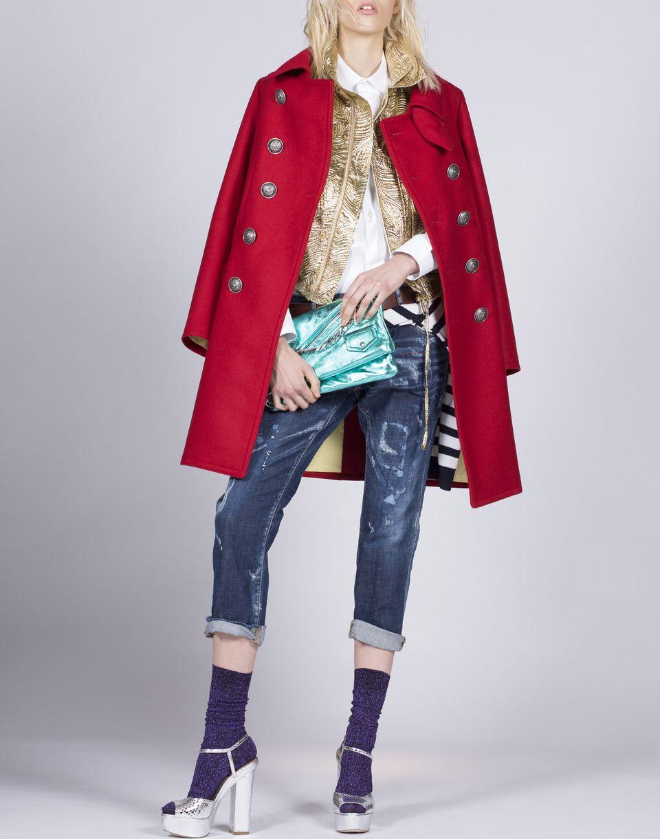 military lurex vest coats & jackets Woman Dsquared2