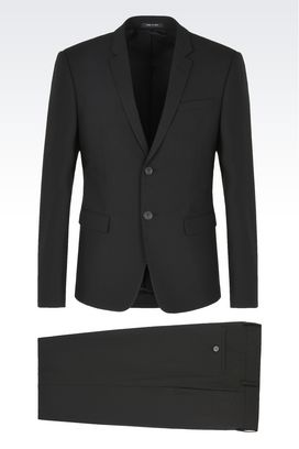 Emporio Armani Men's Suits - Slim Fit, Designer Suits - Spring ...