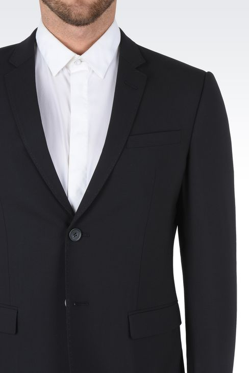 TWO BUTTON SUIT: Two buttons suits Men by Armani - 5