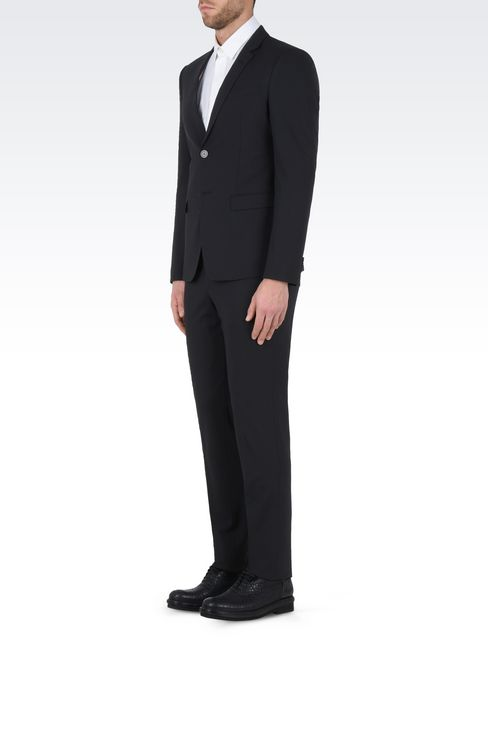 TWO BUTTON SUIT: Two buttons suits Men by Armani - 3