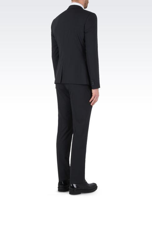 TWO BUTTON SUIT: Two buttons suits Men by Armani - 4