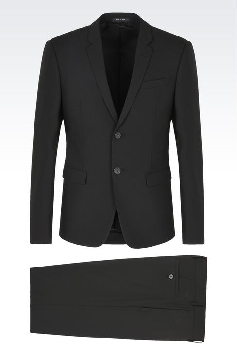 TWO BUTTON SUIT: Two buttons suits Men by Armani - 1