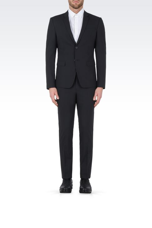 TWO BUTTON SUIT: Two buttons suits Men by Armani - 2