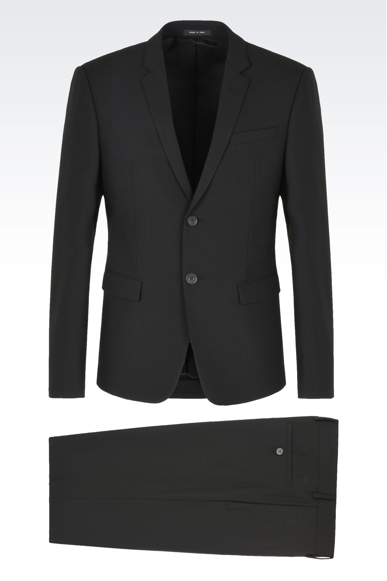 TWO BUTTON SUIT: Two buttons suits Men by Armani - 0