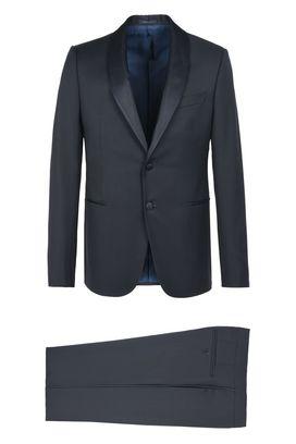 Armani Smoking Uomo abito tuxedo in lana vergine