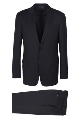 Armani Two buttons suits Men two-button wool suit