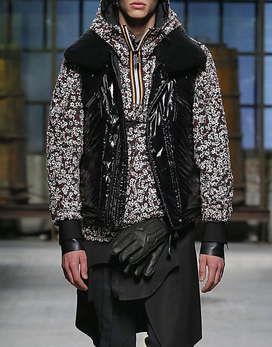 shiny puffer vest coats & jackets Man Dsquared2